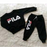 sweater anak jogger anak joger anak celana training anak 8-10 th Fila