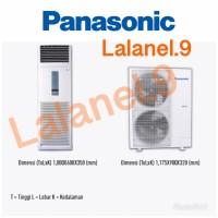 PANASONIC CS-J28FFP8 AC FLOOR STANDING 3PK