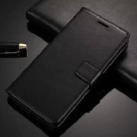Leather Case Flip Wallet Mi max 3 / Sarung Kulit Mi max 3