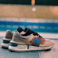 New Balance 997 encap reveal brown blue