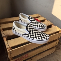 Vans Slipon Checkerboard Black White Global (Original!