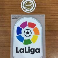 Original Patch Barcelona 2019-20 Laliga n winner