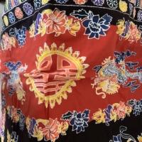 Gendongan / selendang / cukin motif naga preloved