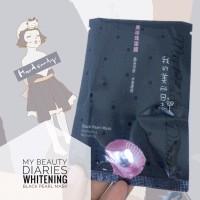 [Masker Wajah] My Beauty Diary Whitening Black Pearl Mask 1pcs 23ml