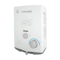 water heater wasser gas wh-506A