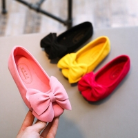 Bowtie Flat Prewalker Shoes for Baby & Toddlers / Sepatu Anak Bayi - PINK - S