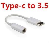 USB TYPE C TO 3.5MM AUDIO JACK AUX KABEL ADAPTER CONVEKTER KONEKTOR