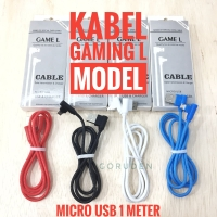 Kabel Data Charger T Bone Gaming Game L Micro USB 1M Meter