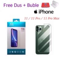 MAXFEEL Back Tempered Glass iPhone 11 11 Pro 11 Pro Max Premium Glass