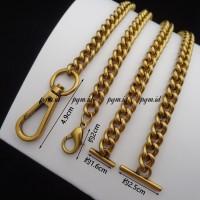 Bag's Strap chain tali tas rantai gucc 9mm