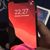 IPhone x 64gb space grey mulus komplit normal