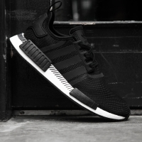 "Adidas NMD R1 ""Black/White/strip"""