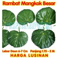 Daun Rambat Plastik/Daun Rambat Artificial/Daun Rambat Dekorasi MB LS