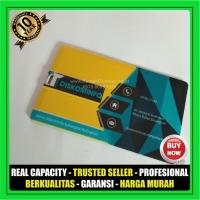 Flashdisk Kartu Polos 16 GB ECERAN - Garansi Chip 10 tahun