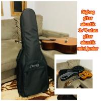 Gigbag Tas gitar akustik junior atau 3/4 akustik tebal