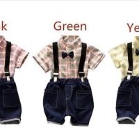 Setelan Suspender Anak Import (SKJ)