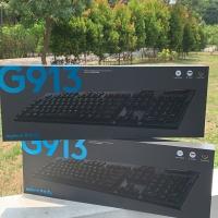 Logitech G Lightspeed Wireless G913 / G915 RGB Mechanical Keyboard - Biru