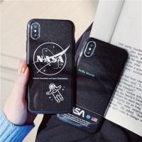 iPhone Case Black Nasa 7/8/7+/8+/X/XS/XS MAX