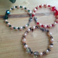 Gelang Perhiasan Anak Atau Bayi Kristal Swarovski mix Mutiara