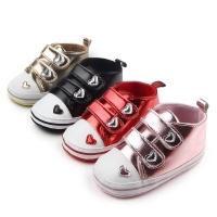 Lovey PU Leather Prewalker Shoes for Baby / Sepatu Anak Bayi