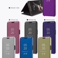Xiaomi Mi Max 3 Flip Cover Clear View Wallet Casing Dompet