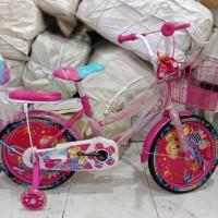 Sepeda Anak Mini 16 Emerson Girls Roda Samping Nyala