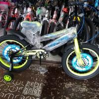 Sepeda Anak BMX 16 Captain Ban Besar