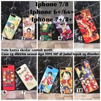 Man hard Case fuze one piece anime iphone 6 6s 6+ 6s+ 7 8 7+ 8+ plus