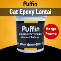 Cat dasar lantai PUFFIN Primer Epoxy chemical resistant 40% 1 kg