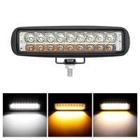 Lampu Tembak 2 Warna 18 Mata Alumunium Case R191