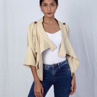 Beige Outer with Buttons