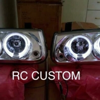Headlamp panther angel eyes merk sonar panther kapsul 2000 - 2004