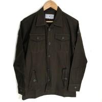 Jaket kanvas Semi parka | Size M L XL