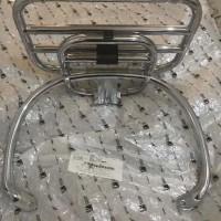 Back Rack / Rear Carrier Chrome Vespa Sprint & Primavera Original