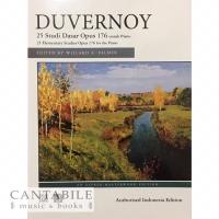 Buku Duvernoy Op. 176 - Indonesian Edition (cetakan lokal)