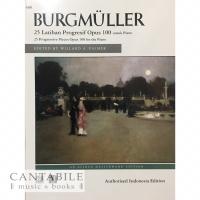 Buku Burgmuller Op. 100 - Indonesian Edition (cetakan lokal)