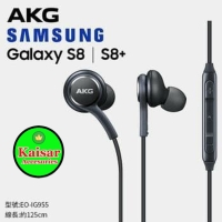 HANDSFREE SAMSUNG AKG S8 S8 PLUS EARPHONE HEADSET HF ORIGINAL BASS ORI