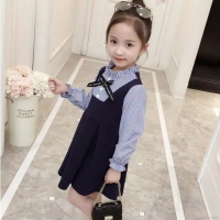 Dress korean style Import/dress anak lucu/dress anak Korea pita