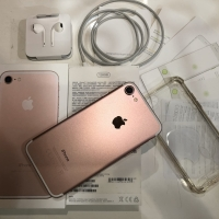 Iphone 7 Rose Gold 128GB Like News