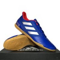 Sepatu Futsal Adidas Predator 19.4 IN Blue Silver BB9083 ORIGINAL BNIB
