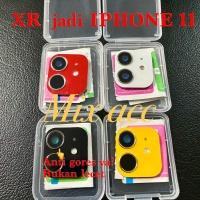 iPhone 11 for iPhone XR 6.1 KAMERA PALSU XR V3.0 FAKE Camera belakang - Kuning