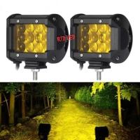 Lampu Tembak 4D 12 Mata Cahaya Kuning 4300K Cahaya Fokus Terang R201