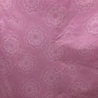 Kain Katun Motif Bunga Pink