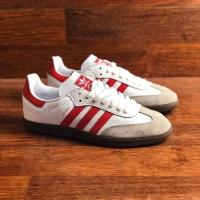 adidas samba classic og Red white