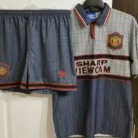 Jersey Manchester United Kit Umbro Keane Away 1995/1996