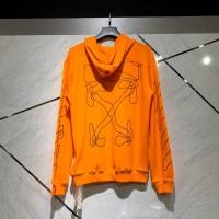 Off White Seasonal Orange Hoodie