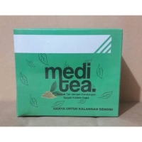 Meditea teh hijau 25sachet