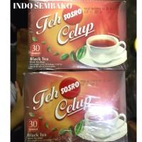 Teh Celup Sosro 10 box x 30 bags / Teh Sosro Kotak 30 teabags x 10