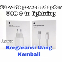 Adaptor 18W USB C to Lightning Fast Charging iphone X Xr Xs 11 Pro Max