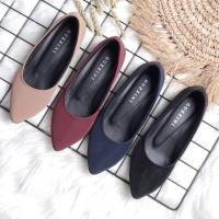 Guzzini MT 010 - Sepatu Flat Polos Casual